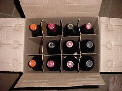 sales of wine cases